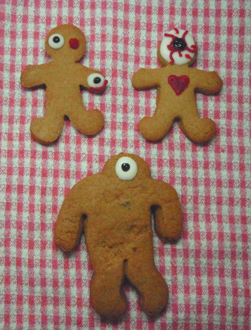 Gingerdead men biscuits